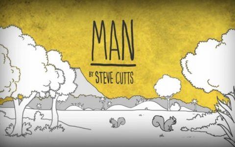 Man, by Steve Cutts