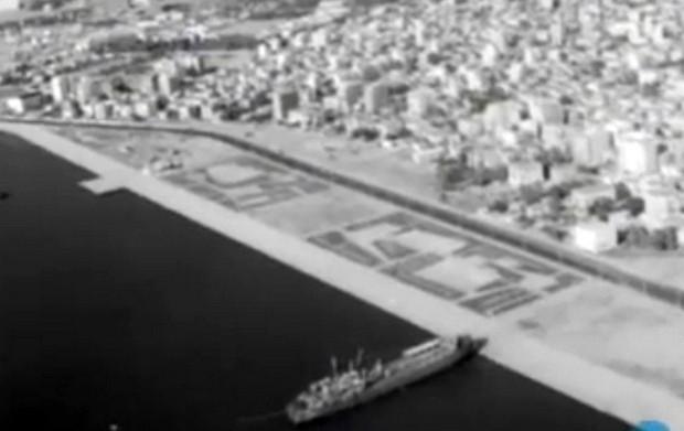 Η Θεσσαλονίκη από αέρος το 1961