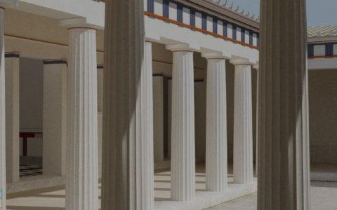 Εικονική περιήγηση, Πέλλα, Οικία του Διονύσου