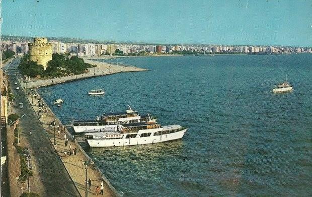 Η Σκάλα της Αγίας Τριάδας, όταν η Θεσσαλονίκη είχε ακτοπλοϊκή συγκοινωνία