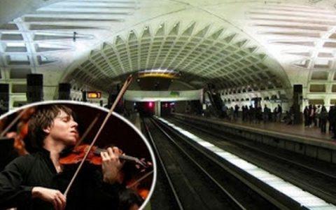 Το πείραμα με το βιολιστή στο μετρό.