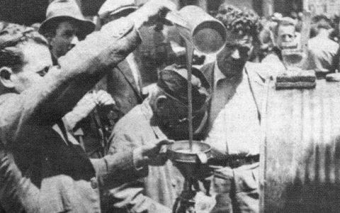 1943, Έλληνες μαυραγορίτες, συλλεκτικό φιλμάκι και φωτογραφίες