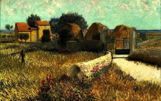 Van Gogh Shadow, ή πως ζωντανεύουν οι πίνακες