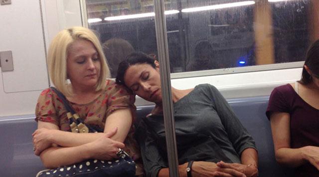 strangers reaction to sleep 9