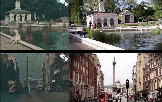 Λονδίνο 1927 και 2013 σε ταυτόχρονη αντιπαράθεση!
