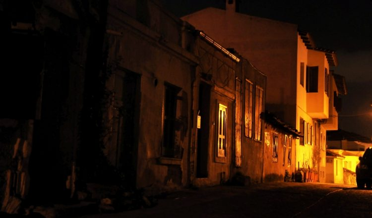 Βραδινή βόλτα στην Άνω Πόλη Θεσσαλονίκης