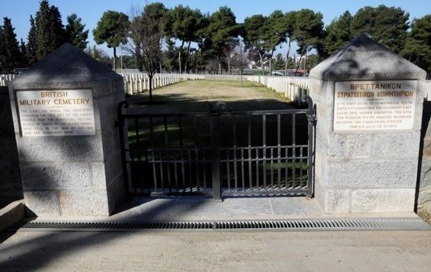 Τα Βρετανικά στρατιωτικά κοιμητήρια στη Μίκρα της Θεσσαλονίκης