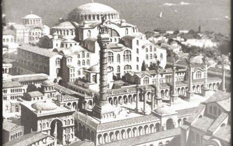 Μια εντυπωσιακή ψηφιακή αναπαράσταση της Κωνσταντινούπολης