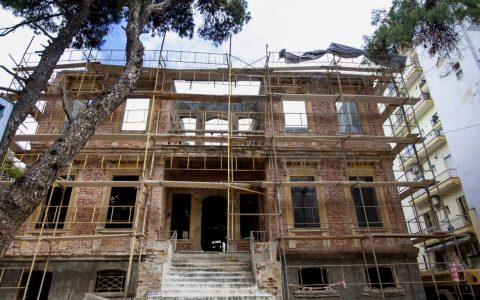 1ο Γυμνάσιο Αρρένων Θεσσαλονίκης, Βίλα Γιοσέφ Μοδιάνο