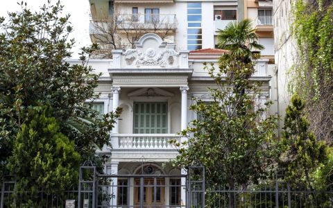 Οικία Μιχαηλίδη, πρώην Βίλα Λεβή Μοδιάνο και Θεμελή