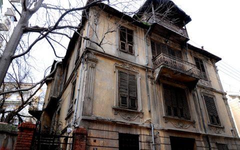 Μπενβενίστε ή Οικία Σερβέτ Χανούμ, Δελφών και Παρασκευοπούλου, στη Θεσσαλονίκη