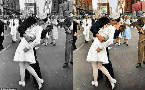 Βάζοντας χρώμα στην ασπρόμαυρη φωτογραφική Ιστορία