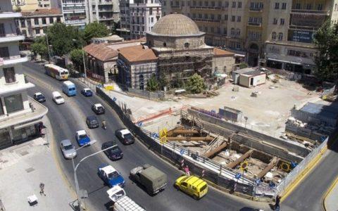 Αρχαία στο Μετρό Θεσσαλονίκης, βίντεο περιήγηση