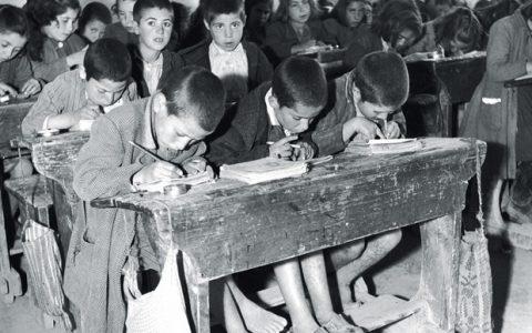 Παλιές φωτογραφίες από Ελληνικά Σχολεία!