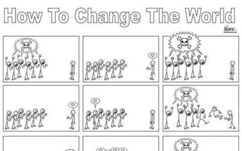 How to change the world, ένα σύντομο κόμικ