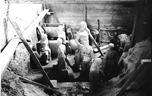 Αρχαιοκαπηλίες Γερμανών στη Μακεδονία της κατοχής