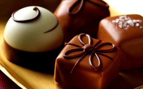 Σοκολάτα : δυο κομματάκια αρκούν