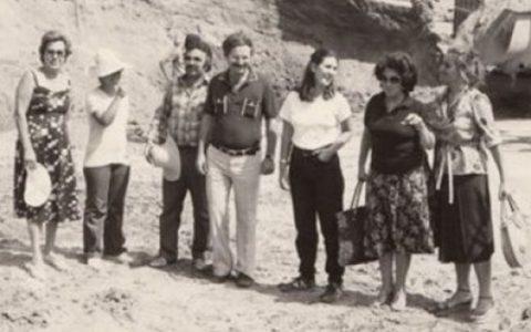 Oταν το 1956 ξεκινούσαν οι ανασκαφές στην Αμφίπολη