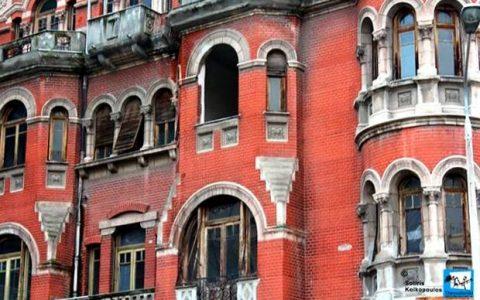 """""""Κόκκινο Σπίτι"""" ή """"μέγαρο Λόγγου"""" στη Θεσσαλονίκη"""