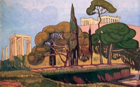 Πρωτοπόροι Έλληνες Ζωγράφοι από τη Συλλογή Θ. Καραπαναγιώτη
