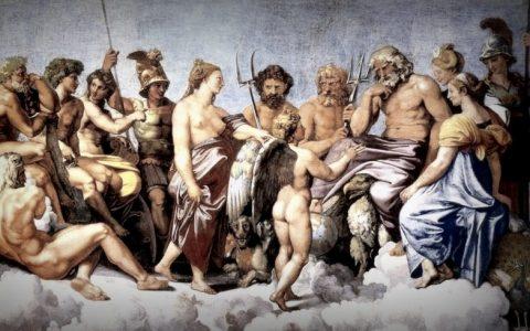 Τα ονόματα των Ολύμπιων θεών και η ετυμολογία τους