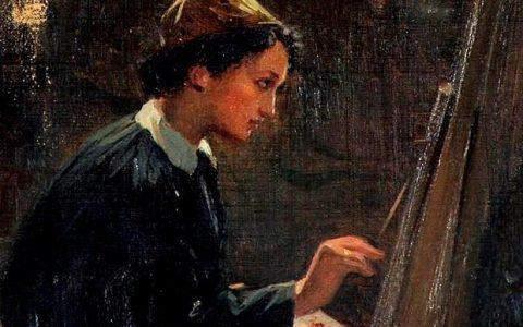Ελένη Μπούκουρα - Αλταμούρα, η πρώτη γνωστή ελληνίδα ζωγράφος
