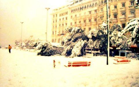 Ο χιονιάς της Θεσσαλονίκης του 1988