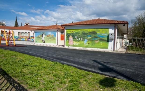 'Οταν το graffiti ομορφαίνει, το ωραιότερο σχολείο της Θεσσαλονίκης