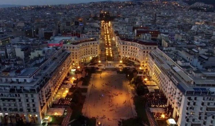 Πλατεία Αριστοτέλους, εκπληκτικά πλάνα από ψηλά
