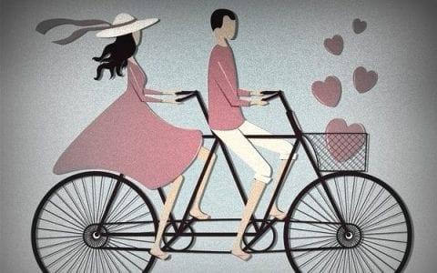 Aγάπη είναι να μεγαλώνουν και οι δύο σύντροφοι μαζί, από τον Χόρχε Μπουκάι