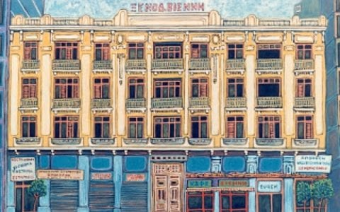 Ιστορικό ξενοδοχείο Βιέννη, στο κέντρο της Θεσσαλονίκης