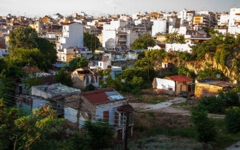 Μια συνοικία στη Θεσσαλονίκη που νικά τον χρόνο