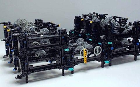 Ο Μηχανισμός των Αντικυθήρων από τη Lego