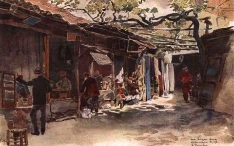 Η Θεσσαλονίκη του 1916 με τα μάτια J. Touchet