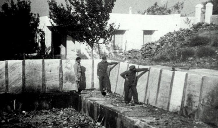 Η πισίνα των Γερμανών και το Ισραηλίτικο νεκροταφείο