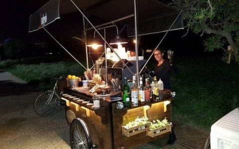 Modbar, το πρώτο ποδήλατο που σερβίρει καφέ στην Ελλάδα!