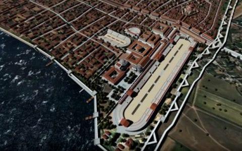 3D αναπαράσταση της Παλαιάς Θεσσαλονίκης