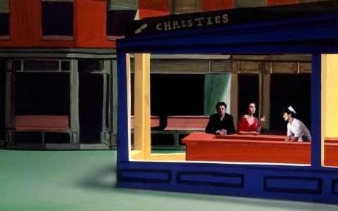 Artist: Clark et Pougnaud (tribute to Edward Hopper)