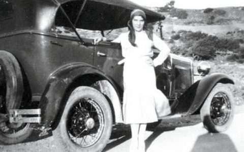 Αριστέα Ιωαννίδου, η πρώτη Ελληνίδα γυναίκα οδηγός ήταν δασκάλα