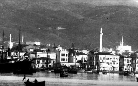 Θεσσαλονίκη, παραλία γύρω στα 1900
