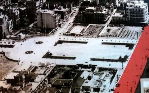 Πλατεία Αριστοτέλους 1950 και θερινοί κινηματογράφοι