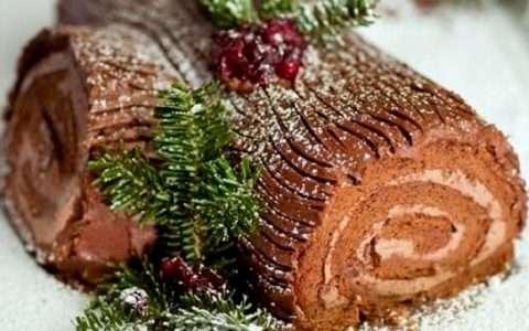 Εξαιρετικός Χριστουγεννιάτικος κορμός εύκολος!