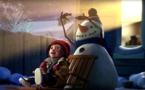 Η Λίλυ και ο Χιονάνθρωπος, μια τρυφερή χειμωνιάτικη ιστορία