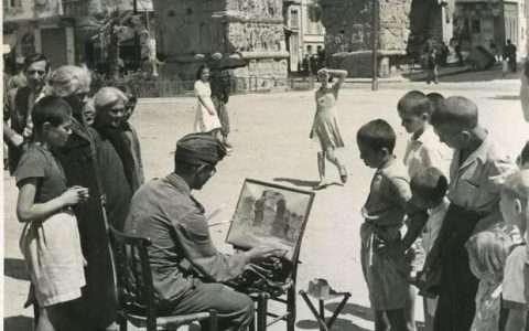 Στο περιθώριο του πολέμου: Η Θεσσαλονίκη της Κατοχής (1941-1944) μέσα από τη φωτογραφική συλλογή Βύρωνα Μήτου