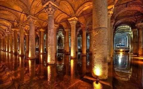 Η υπόγεια πόλη της Κωνσταντινούπολης