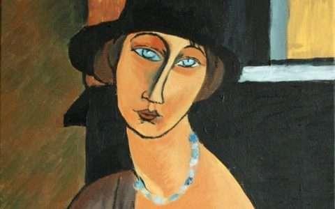 Artist: Amedeo Modigliani (detail)