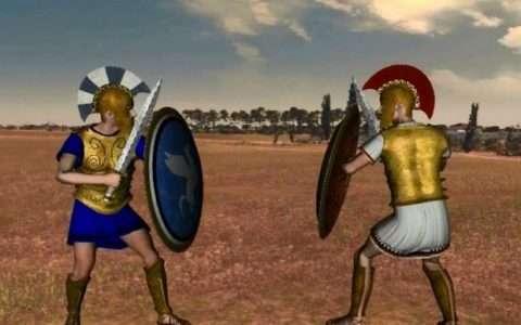 Ο Πόλεμος της Τροίας σε 3D animation