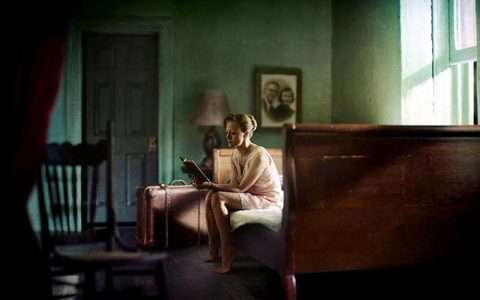 Artist: Richard Tuschman (inspired by Edward Hopper)