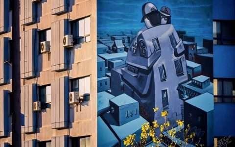 Θεσσαλονίκη και street art: με σεβασμό και τέχνη, ο κόσμος μας γίνεται πιο όμορφος