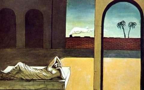 Artist: Giorgio de Chirico (detail)